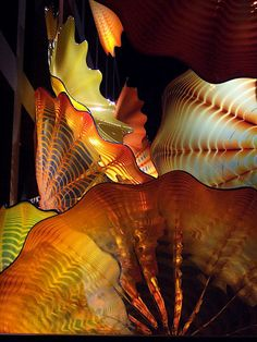 Chihuly glass up close
