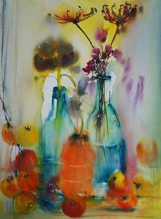 Olivia Quintin - Sous la pluie acidulée / Under acid rain