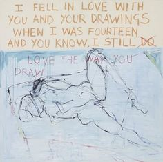 Tracey Emin - Exorcism of the Last Painting I Ever Made (detail) - Contemporary Art Women Artist, Girl Artist, Artist Art, Tracey Emin Art, Beuys Joseph, Saatchi Gallery, I Love America, Artwork Online, Mystique