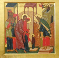 Введение во храм Пресвятой Богородицы - иконография праздника