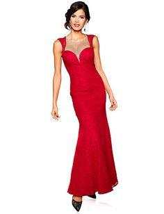 Ashley Brooke Event - Abendkleid rot im Heine Online-Shop kaufen