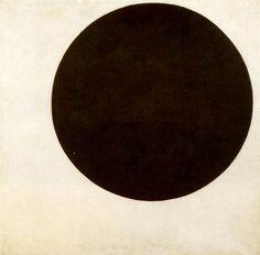 Le suprématisme - Kazimir Malevitch - Cercle noir (1913 ).