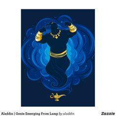 Aladdin Genie Emerging From Lamp 3 Ring Binder , Genie Aladdin, Aladdin Lamp, Create Your Own, Create Yourself, Disney Live, Blue Clouds, Binder Design, Magic Carpet, Action Movies