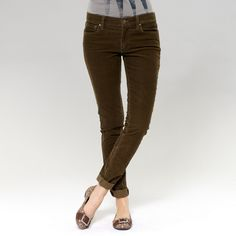 Fossil Super Skinny Cord Pant $88.00