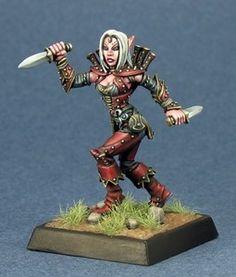 Reaper Pathfinder Miniatures Merisiel Iconic Female Elf Thief 60013 | eBay