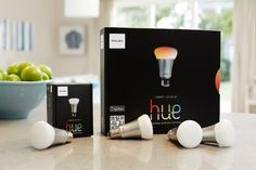 Phillip Hue allows consumers to create and control their light colors and intensity through a smartphone  or tablet.