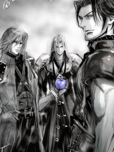 Final Fantasy Artwork, Final Fantasy Vii Remake, Fantasy Series, Cute Anime Boy, Anime Guys, Ai No Kusabi, Yazoo, Nerd Love, Video Game Characters