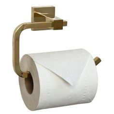 Barclay Products Jordyn Single Post Toilet Paper Holder in Polished Brass-ITPR2095-PB at The Home Depot