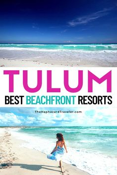 Tulum, Mexico hotels on the beach let you step right from your room into sugary-soft white sand! From eco-chic glamping to Tulum Mexico boutique hotels, romantic luxury resorts & Tulum villas for a family, these are the best Tulum, Mexico hotels. Pick from the best Tulum, Mexico resorts & get hotel tips for every budget. Where to stay in Tulum Mexico hotels   Where to stay in Tulum Mexico beaches   Tulum Mexico resorts beach   Mexico travel destinations beaches   Tulum Mexico resorts…