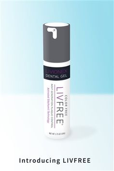 $22.00 LIVFREE cleans teeth without the harsh abrasives and foaming agents used by other toothpastes. Our special formula virtually eliminates plaque. This unique approach to dental care will give you a whole new kind of clean to smile about—and healthier teeth for life. It uses real peppermint oil for a mild peppermint taste.