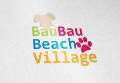 """Realizzazione Logo """"Bau Bau Beach Village"""" Primo stabilimento balneare dedicato ai cani in Campania"""