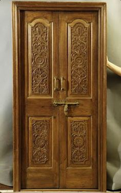 Indian Antique Doors : Regular and heavy duty bedside commodes, raised toilet seats, and toilet safety frames for hygiene and bathroom safe. Wooden Main Door Design, Ceiling Design, Wooden Door Design, Kitchen Ceiling Design, Door Gate Design, Carved Doors, Door Glass Design, Room Door Design