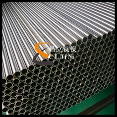 ASTM B338 Seamless titanium pipe for heat exchanger Our pipe is with high quality and competitive price