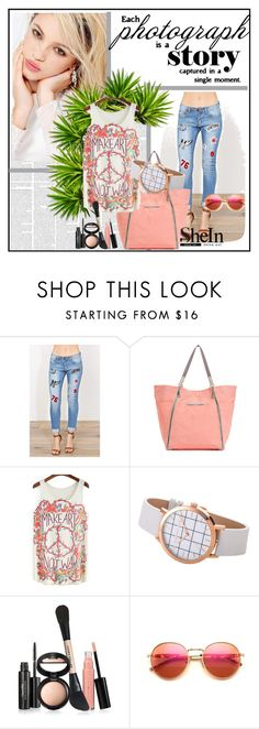 """""""Wow..Sheln!!"""" by amrafashion ❤ liked on Polyvore featuring Silvana, Laura Geller and Wildfox"""
