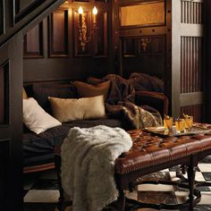 """Luxury Faux Fur Throw - Frontgate.com Fur densely woven at 700 gsm; 50"""" x 70""""; Machine washable; knife edge hem"""