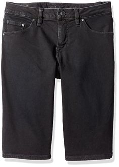 ef2ae852cf Jag Jeans Womens Willa Bermuda In Dolce Twill Black 12     Check out this
