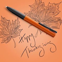 Our special edition LAMY tipo orange is the perfect pen for the season 🍁🍂🦃 How are you celebrating #thanksgiving? #lamy #lamytipo #autumn #inspiration #notjustapen