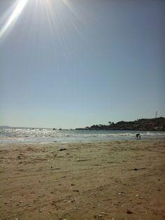 Playa de tongoy Chile beautiful beach an Chilean is love ✌☁☁