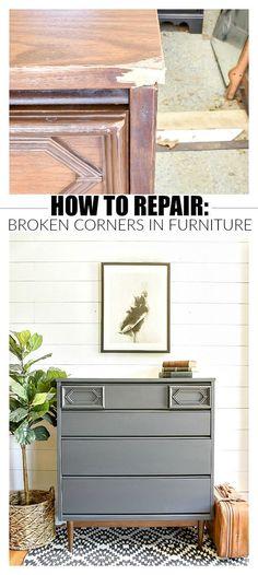 161 best furniture repair images in 2019 furniture repair painted rh pinterest com  how to repair a broken wooden chair leg