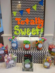 80S CANDY BUFFET | 80s theme