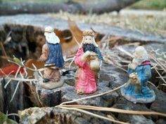 "Are the Magi Off Course...Again? (December 4, 2010). Stumped, the Magi consider singing a few verses of, ""O Come, O Come, Emmanuel."""