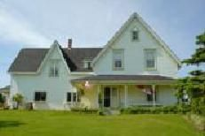 """The home of L.M. Montgomery's father and grandfather and the inspiration for """"Ingleside"""".  It is now the L.M. Montgomery Heritage Museum in Park Corner, PEI."""