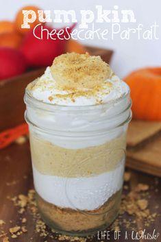 Pumpkin Cheesecake Parfait