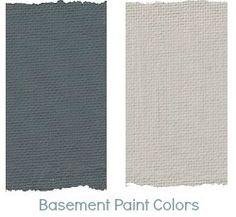 Sarah Richardson's Para Collection - basement colours