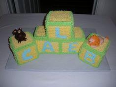 Baby Block Cakes | Flickr - Photo Sharing!