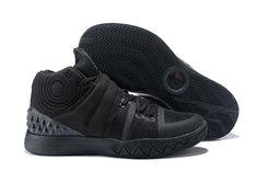 """newest 9cb51 d0d80 2018 Nike Kyrie S1 Hybrid """"Triple Black"""" BlackBlack AJ5165-901"""
