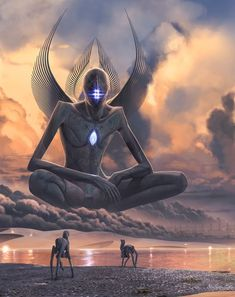 A Metahuman meets the Birrin on their homeworld Chriirah. Contact by Abiogenisis: