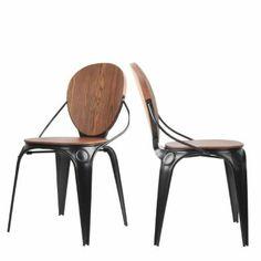 Lot de 2 chaises vintage métal LouiXX, Drawer 450 €