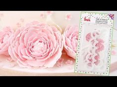 How To Make Quick & Easy Sugar Peonies using The Easiest Peony Ever Cutter - YouTube