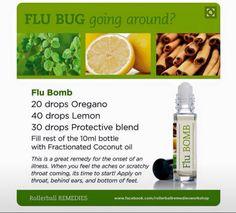 Flu bomb