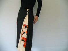 antique kimono wrap skirt | Flickr - Photo Sharing!