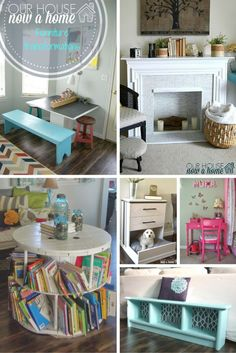 13 furniture transformations! Upcycling furniture, secondhand pieces turning into showstoppers. A diy dream list for anyone who likes some furniture inspiration!