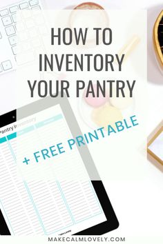 Your pantry containing your food staples and supplies will only work well for you if it is organized and… Pantry Closet Organization, Pantry Inventory, Pantry Storage, Organizing Tips, Storage Organization, Non Perishable Items, Creative Storage, Food Staples, Food Storage Containers