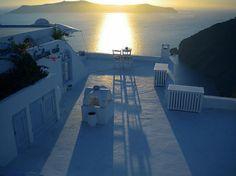 Santorini island Greece ,Sun Set Photography Colette H. Guggenheim