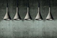Designer Pendelleuchte (Beton) APLOMB by Lucidi & Pevere FOSCARINI