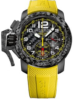 Graham Watch Chronofighter Oversize Superlight Carbon