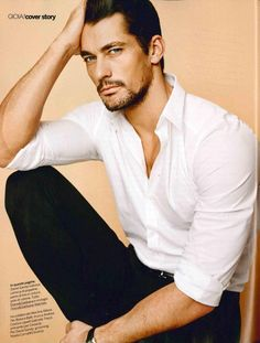 David-Gandy- I don't know what I can say. Just look at the man!