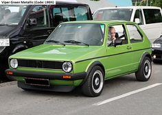 Golf GTI MK1 Viper Green metallic