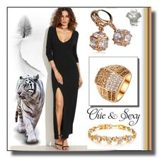 La Mia Cara by selmamehic  featuring Mode with La Mia Cara Jewelry & Accessories #lamiacara #jewelry: