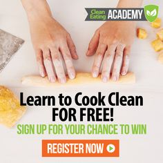 Enter now for your chance to win a free semester-long cooking course from Clean Eating! https://www.aimhealthyu.com/courses/clean-eating-academy