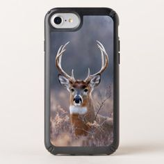 Elegant Whitetail Deer Autumn Or Winter Season Speck iPhone Case -nature diy customize sprecial design