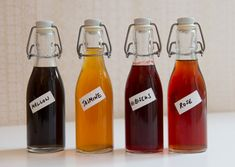 Infusions for Cocktails: Flower Syrup Recipes -Bureau of Taste