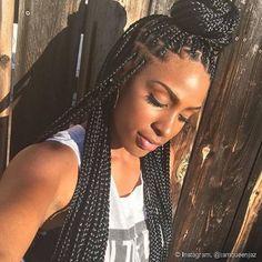 Box braids: + de 55 fotos e dicas profissionais para quem quer trançar o cabelo