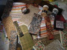 The Vintage art kitpack of vintage like art supplies by eltsamp, $75.00