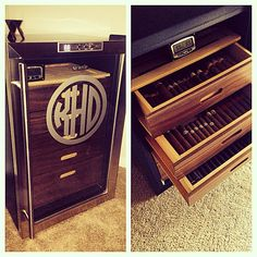 Project complete! #wineador #cigars