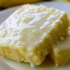 Lemon Brownies Recipe 2 | Just A Pinch Recipes These look so moist.  I can't wait to try these.